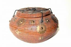 Indonesia Sumatra Aceh basket tribal art