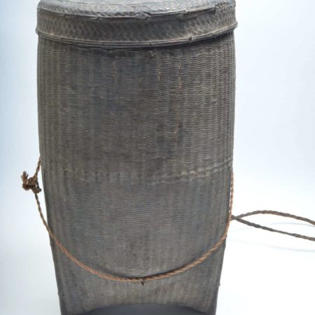 Carrying basket from Thailand with lid