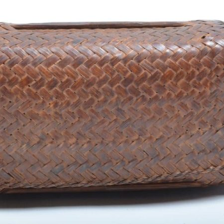 small plaited basket from Thailand